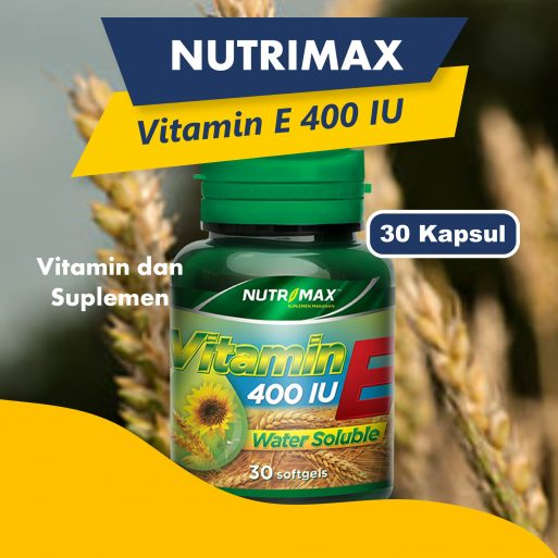 Nutrimax Vitamin E 400 IU Water Soluble 30S