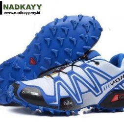 SALOMON SPEEDCROSS 3 - PUTIH LIST BIRU