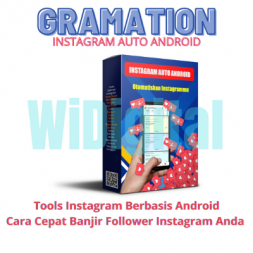 Gramation tools instagram otomatis berbasis android